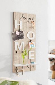 Nástěnný věšák na drobnosti Sweet home (27169834) _I223 - použité