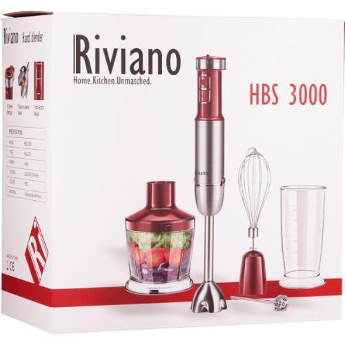 ruční tyčový mixér Riviano  - Malé elektrospotřebiče