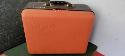 Starý magnetofon TESLA SONET DUO výroční varianta - nevšední,kufříkové