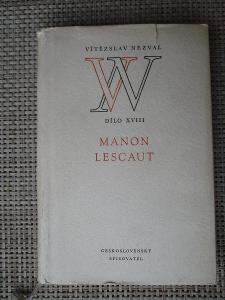 Nezval V.ítězslav - Manon Lescaut