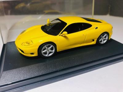 Model auto Ferrari 360 Modena 1:43 (Atlas, IXO, Minichamps, Brumm