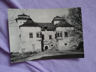Pohlednice Státní zámek DIVIAKY,neprošlé poštou