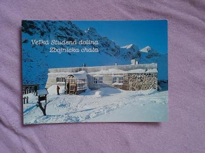 Pohlednice Veľká Studená dolina - Zbojnícka chata,prošlé poštou