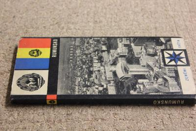 STARÁ BROŽURA - RUMUNSKO  ROK 1966