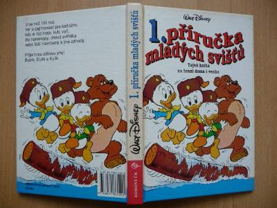 Kniha - 1. příručka mladých svišťů - EGMONT ČR 1997