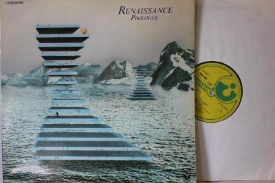 Renaissance – Prologue LP 1972 vinyl Germany 1.press jako nove NM