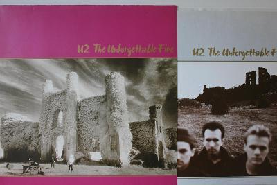 U2 – The Unforgettable Fire LP 1984 vinyl Germany 1.press jako nove