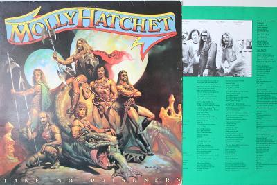 Molly Hatchet Take No Prisoners LP 1981 vinyl Southern Rock jako nove