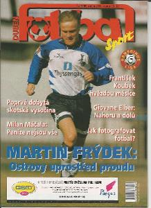 časopis Fotbal č.4/1999