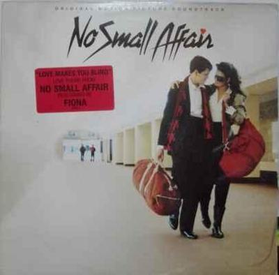 LP Various - No Small Affair (Original Soundtrack) 1984 EX