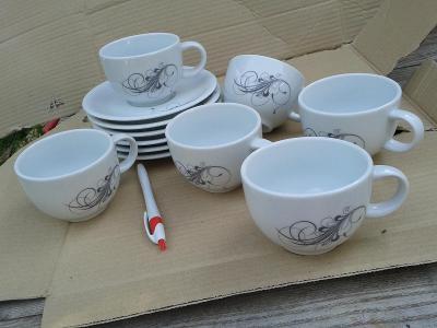 starý porcelán šálky/871
