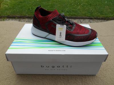 Nové pánské volnočasové boty - tenisky zn.: Bugatti - vel. 44
