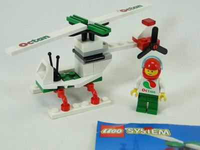 Lego 6515 City/System, Vrtulník z 90 let