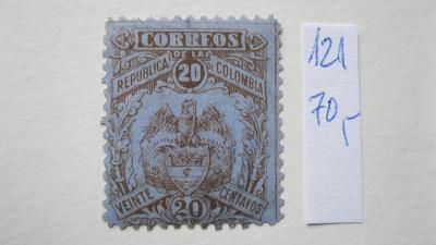 Kolumbie - čistá známka bez lepu katalogové číslo 121