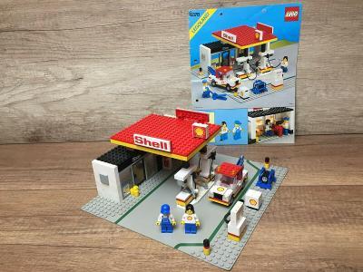 LEGO 6378 City/system, Čerpací stanice z 80 let