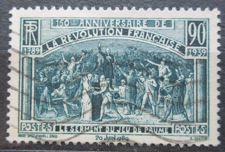 Francie 1939 Francouzská revoluce, 150. výročí Mi# 457 0420 - Filatelie