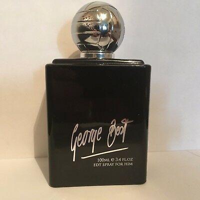 George Best Silver 100ml Edt Tester. Pánská vůně