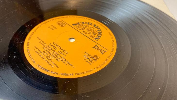 LP Karel Gott Kontrasty - Hudba