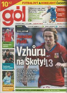 časopis Gól č.35-36/2011