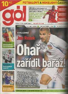 časopis Gól č.43-44/2011