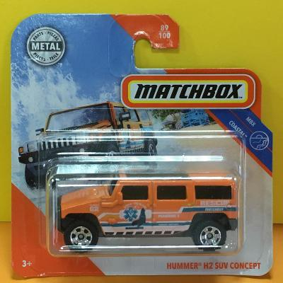 Hummer H2 SUV Concept - Matchbox 2020 89/100 (MB2-89)
