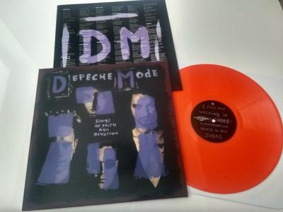 "DEPECHE MODE ""Songs of Faith and Devotion ""/Mute 1993/oranzovy vinyl"