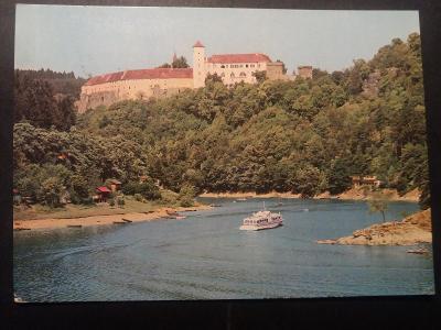 VRANOVSKÁ PŘEHRADA - Hrad BÍTOV - loď - VF J27