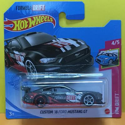 Custom '18 Ford Mustang GT - Hot Wheels 2021 127/250 (E22-51)