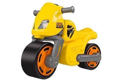 BIG Motorka BIKE RACING žluté