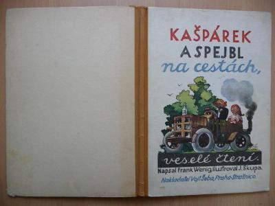 Kašpárek a Spejbl na cestách - Frank Wenig - Nakladatel Vojt. Šeba