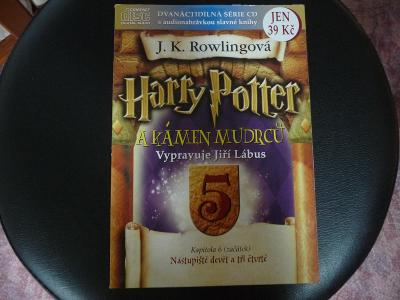 """DVD Harry Potter """"a kámen mudrců"""""""