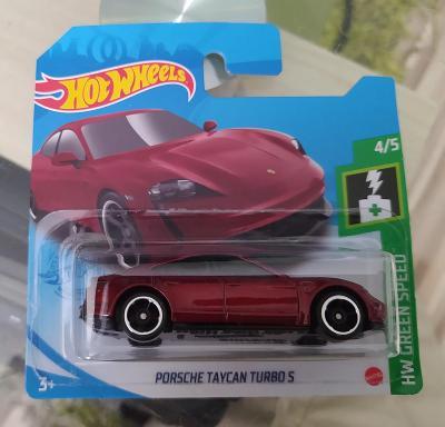 Porsche Taycan Turbo S - Hot Wheels
