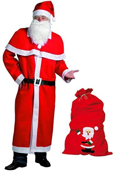 Idena kostým Santa Clause UNI velikost