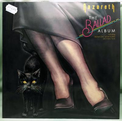 Nazareth – The Ballad Album 1985 Germany Vinyl LP 1.press