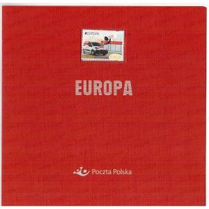 Polsko 2013 Prezentační balíček Známky + FDC Europa CEPT poštovní auto