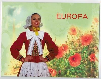 Polsko 2014 Prezentační balíček Známky + FDC Europa CEPT hudba nástroj