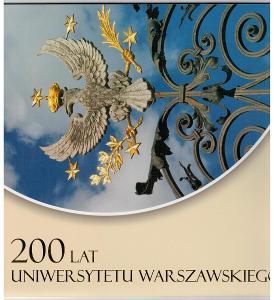 Polsko 2016 Prezentační balíček Známky aršík +FDC Varšavská univerzita