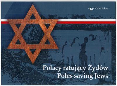 Polsko 2021 Prezentační balíček Známky Židi Druhá světová válka Poláci