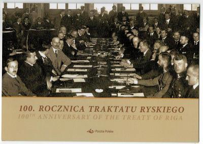 Polsko 2021 Prezentační balíček Známky První světová válka hranice mir