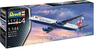 Boeing 767-300ER (British Airways Chelsea Rose) (Revell 1:144)