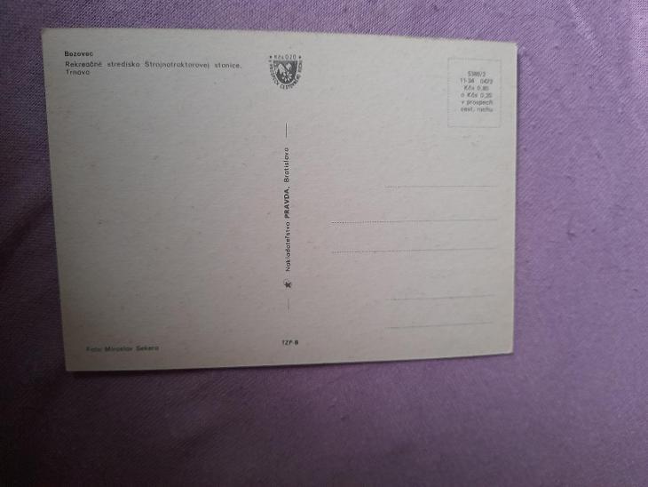 Pohlednice Bezovec,neprošlé poštou  - Pohlednice