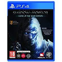 PS4 Middle-Earth: Shadow of Mordor GOTY