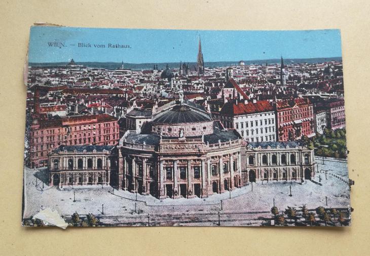 Pohled  Wídeň - Pohlednice