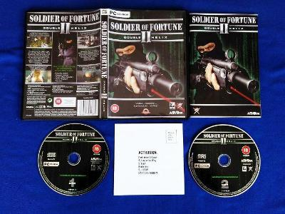 PC - SOLDIER OF FORTUNE 2 DOUBLE HELIX (retro 2002) Top