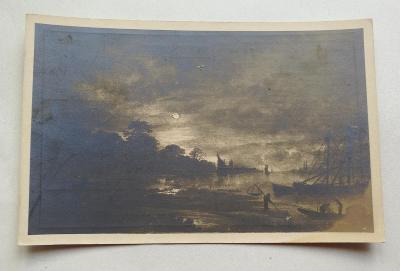 Pohled Krajina v měsičním svitu