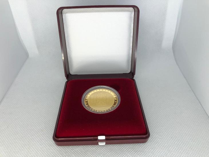 Zlatá mince 10000 Kč Zavedení československé měny 1oz 2019 ČNB PROOF - Numismatika