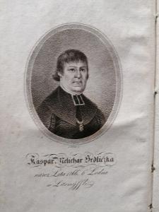 1818 - Kázání a Homílie - Kašpar Melichar Hrdlička