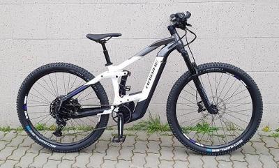 Elektrokolo e-bike Haibike FullNine 8, jako nové, 180km. PC:126 900,-