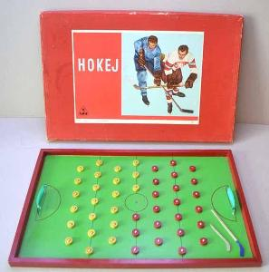 Stará stolní hra HOKEJ / tofa
