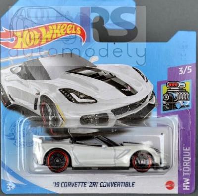 Hot Wheels Chevrolet Corvette ZR1 Convertible 201 - poštovné v popise!